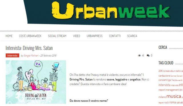 driving urbanweek