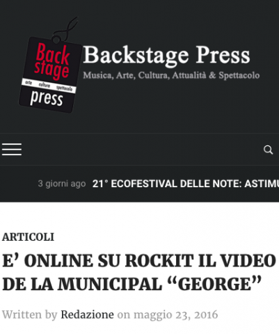 Backstage Press