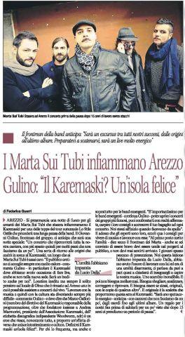 A-MST-CORRIERE DI AREZZO-INTERVISTA E FOTO-10-11-16 - Copia